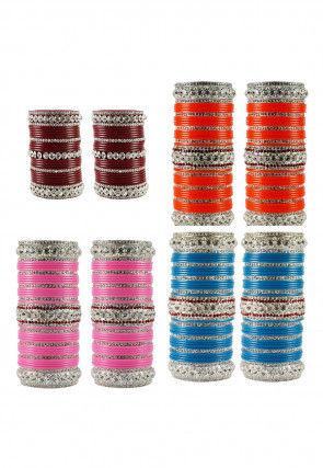 Stone Studded Choora Set