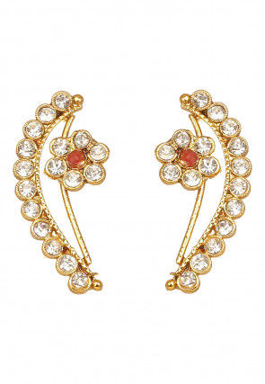 Stone Studded Ear Cuffs