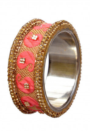 Stone Studded Lac Bangle