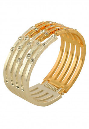 Stone Studded Openable Hand Cuff