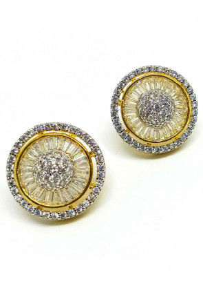 Stone Studded Stud Earrings