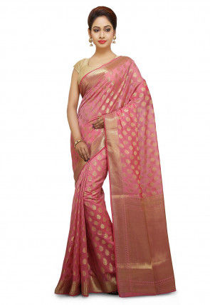 22459e8dbd Banarasi Saree - Shop Pure Silk Banarasi Sarees Online | Utsav Fashion