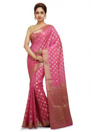 281cdb8ec6 Banarasi Saree - Shop Pure Silk Banarasi Sarees Online | Utsav Fashion
