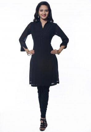 Georgette Kurti in Black