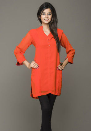 Georgette Kurti in Orange