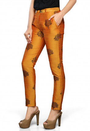 f9c8c46ca53819 Raw Silk - Pants & Trousers - Indo Western Dresses: Buy Latest Indo ...