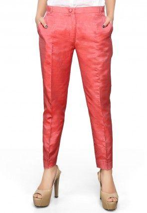 fd661c53ee Trousers & Pants: Buy Indo-Western Bottom Wear for Women Online | Utsav  Fashion