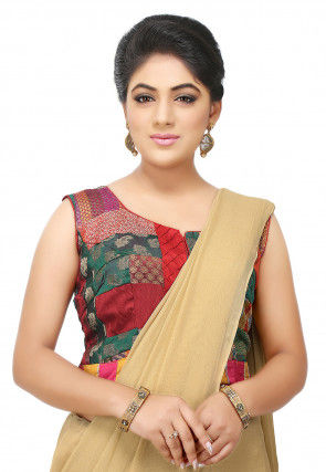 fc2b33fdfb418 Brocade - Ethnic Blouses  Buy Indian Saree Blouse Designs from Largest  Range Online