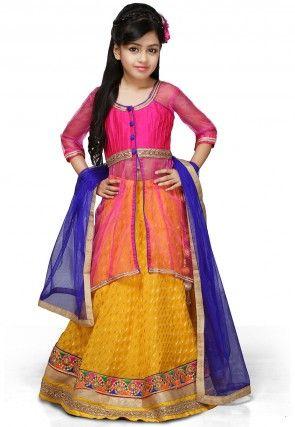 4281dc506218 Kids Party Dresses  Buy Ethnic Party Wear Kids Dresses Online