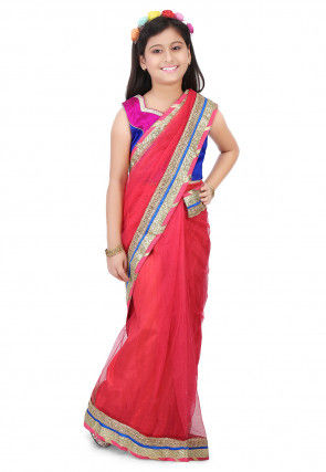 8ac9d182f15a4 Buy Kids Sarees Online, Sarees for Kids, Kids Sari with Blouse