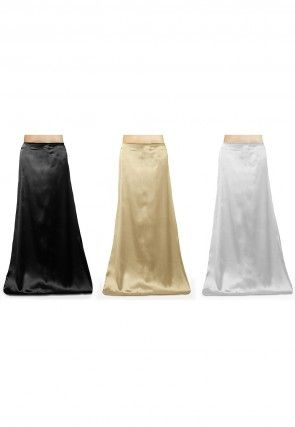Satin Combo Sets in Petticoat