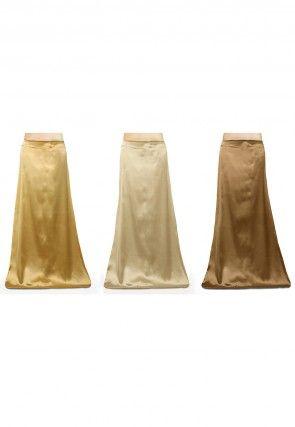 Satin Combo of Petticoat