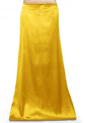 Satin Petticoat in Yellow