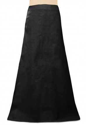 Cotton Petticoat in Black