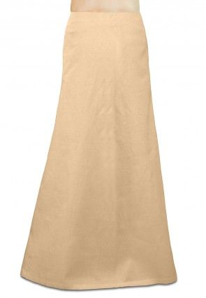 Cotton Petticoat in Light Beige