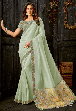 48d9eb887fc5d2 Buy Tissue Saree, Tissue Silk Sarees and Designer Tissue Saree Online