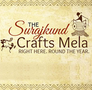 The Surajkand Craft Mela Only Here! At All Times!