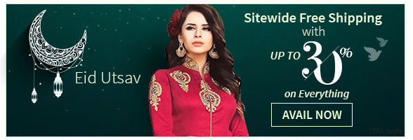 Grand Eid Sale: Sitewide Free Shipping plus Step up offer from 10% to 30% Off on your bill. Shop!