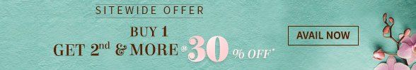Avail Sitewide Offer: Buy more than 1 & get 30% Off on all other lower-priced items. Shop!