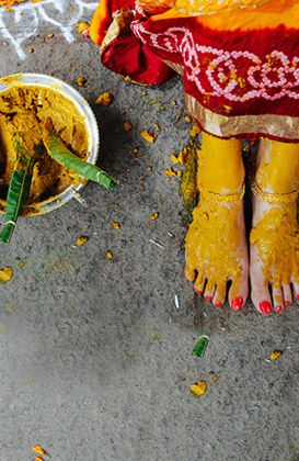 Get ready for your haldi ceremony