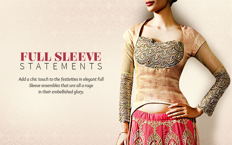 Ethnic Fashion with full sleeves for dignified clothing