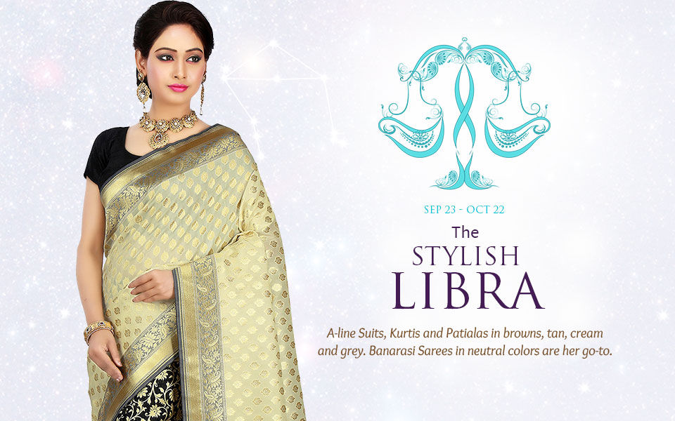Libra Zodiac Indian Ethnic Fashion Clothing In Shades Of Teal