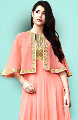 Shop Indian Ethnic fashion in Pastel shades