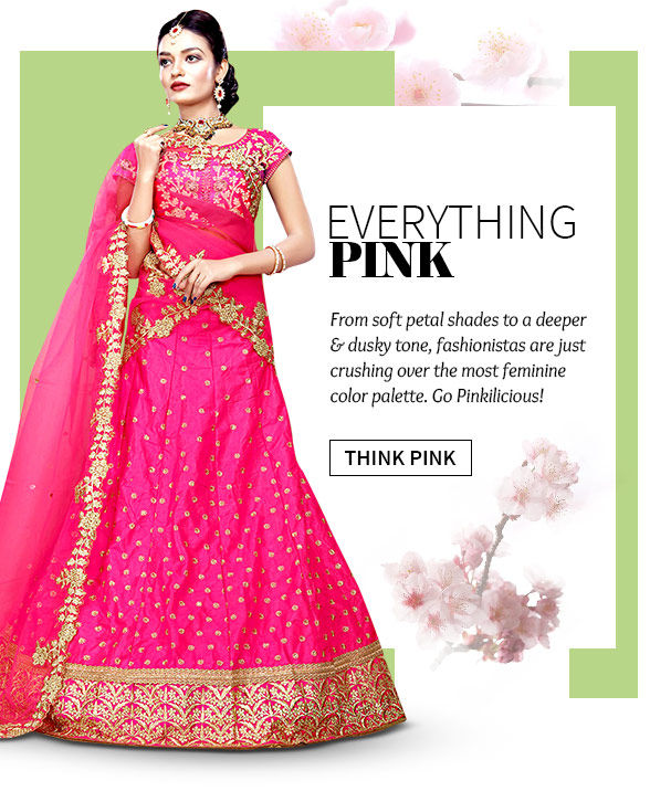 Explore fresh styles in Pink hues with the Changeover Sale. Buy Now!