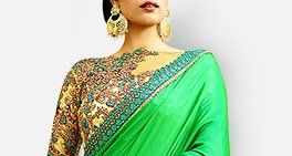 Total array of Sarees, Lehengas, Salwar Suits, Indo Westerns for divas. Shop!