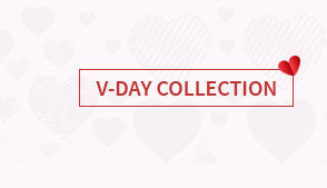 Valentines Day curated collection with 1 day dispatch collection