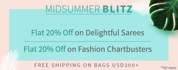 Midsummer Blast: 20% Off on our Bestselling Styles. Shop!