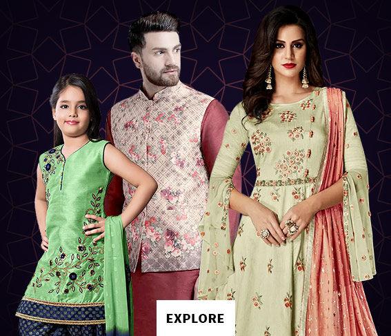ef8d04097fa3 FESTIVE FAMILY SHOPPING Eid Family Collection  Abayas