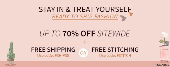 Stay In & Treat Yourself | Ready to Ship Fashion!
