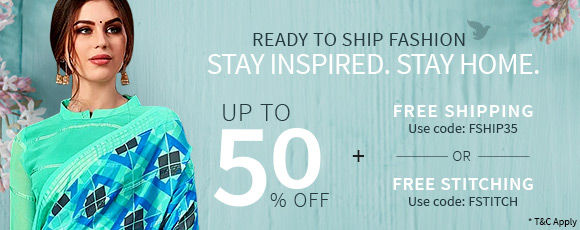 Stay Inspired. Stay Home. | Ready to Ship Fashion!