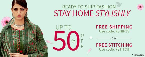 Stay Home Stylishly. | Shop Ready to Ship Fashion!
