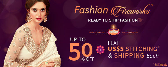Fashion Fireworks | Up to 50% off with Flat US$5 Shipping & Stitching* each. Shop!