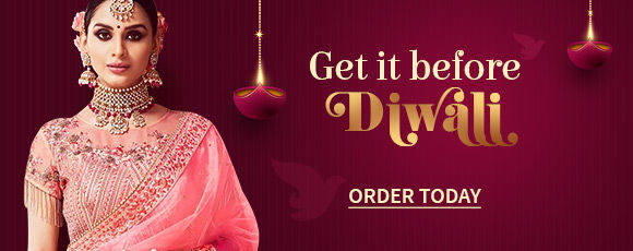 Diwali Sale | Up to 50% off with Flat US$5 Shipping & Stitching* each. Shop!