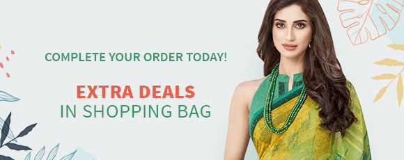 Summertime Specials: Upto 50% Off + Free Shipping* or Stitching*. Shop!