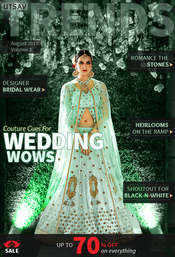 The Styles and Trends from the Top Designers of India.