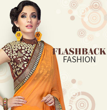 Plain Sarees with Embroidered Blouse, Monotone Salwar Suits with elaborate Dupattas. Shop!