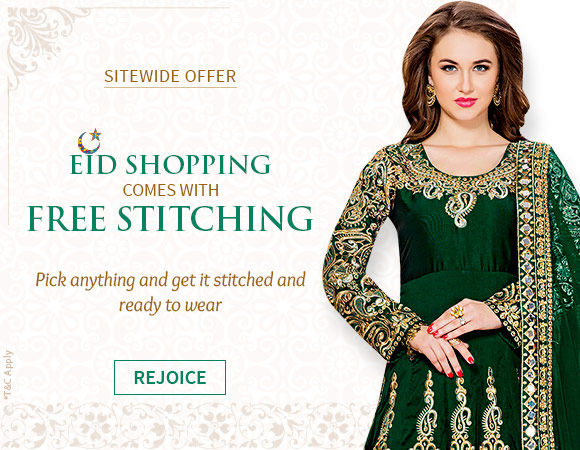 Free Ready To wear Stitching on over 15000 Products. Opt Now!
