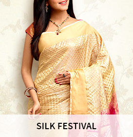 Shop from an amazing array of indian silk from the home of artisans.