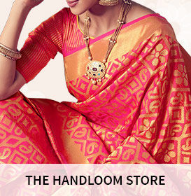 Scroll through rich handloom collection from regional Indian beauties