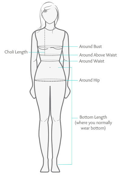 How to Measure Lehenga Choli