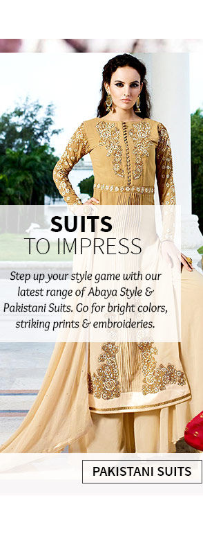 New Arrival in Pakistani Suits. Buy Now!