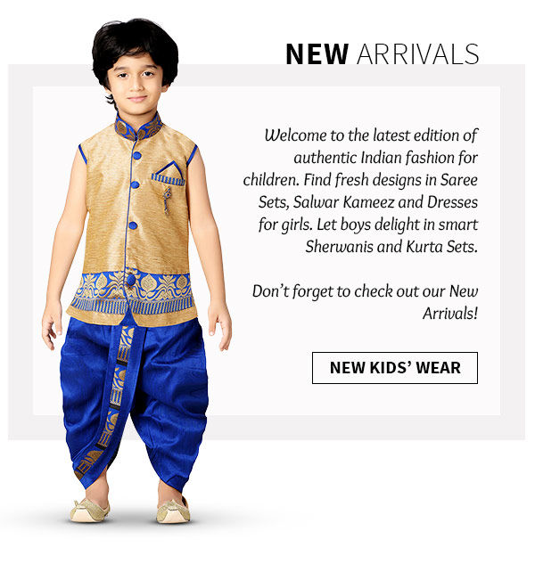194c4b880b Traditional Kids Wear Collection for Festive and Wedding Occasions