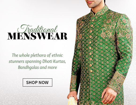 3fee18c1828 Mens Wear Collection from India for Weddings