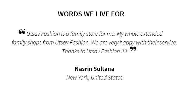 Celebrating your love for Indian Fashion. Send us your picture with #MyFashionUtsav and get featured.