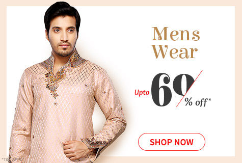 Upto 60% Off on Ethnic & Fusion Wear for Stylish Men. It's a deal!