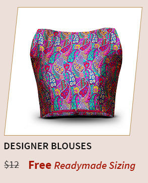 Choose your blouse style and get it stitched for free. Shop Now!